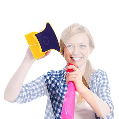 Tus cristales estarán limpios sin esfuerzo, con esta esponja magnética será muy fácil ¡es ideal!