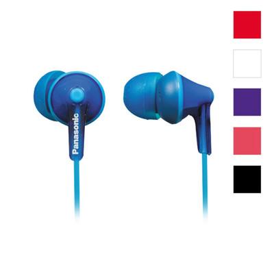 Auriculares de botón Panasonic con diseño Ergofit y la mejor calidad de sonido