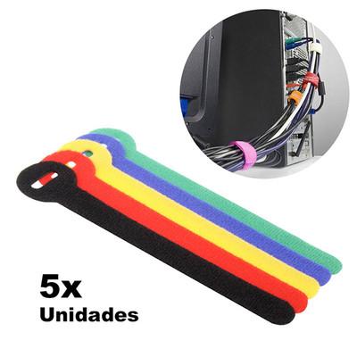 Te encantará tener los cables desenredados y ordenados gracias a este velcro de cables