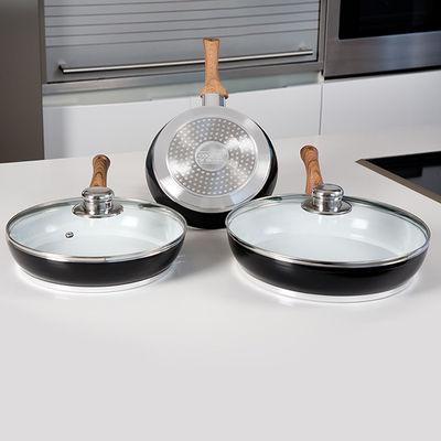 Ya puedes disfrutar de este magnífico pack de sartenes y tapas en  tu cocina, ¡estarás encantada!