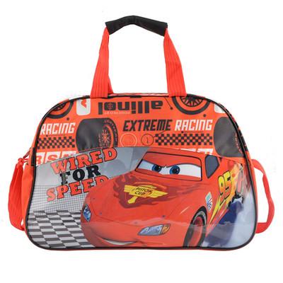 Haz de la vuelta al cole algo divertido con esta bolsa deportiva de Cars