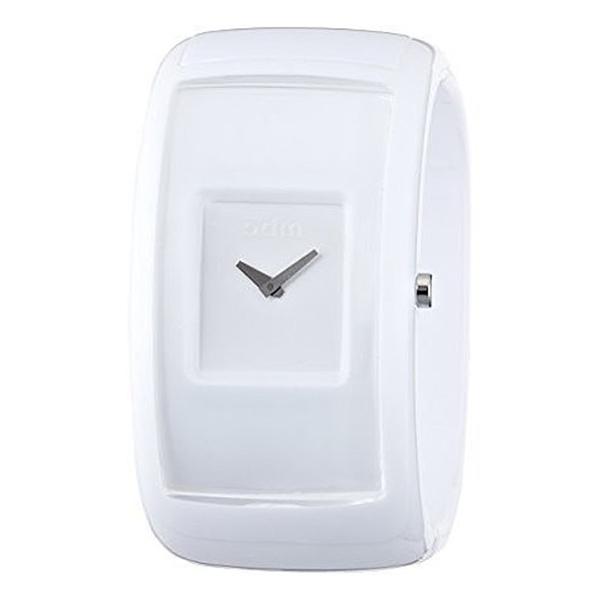 Reloj analógico mujer silicona - blanco