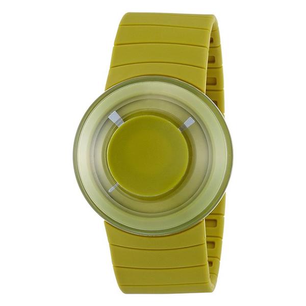 Reloj analógico plástico unisex - verde