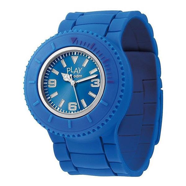 Reloj analógico silicona unisex - azul