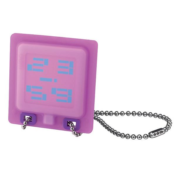 Reloj digital acero unisex - plateado