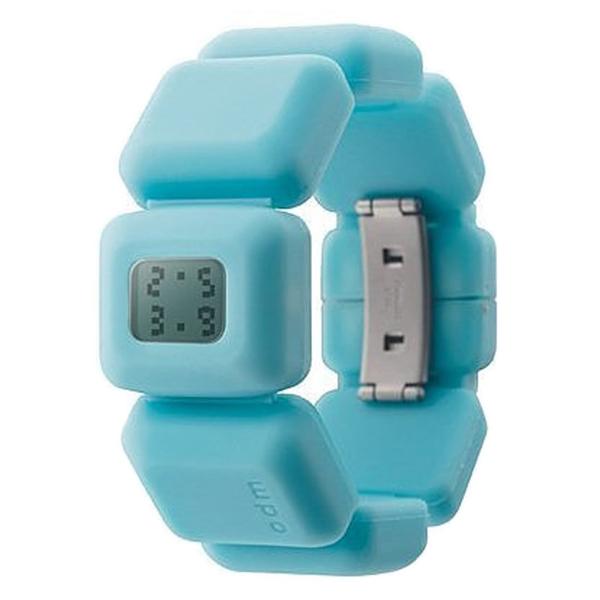 Reloj mujer digital silicona/caucho - azul