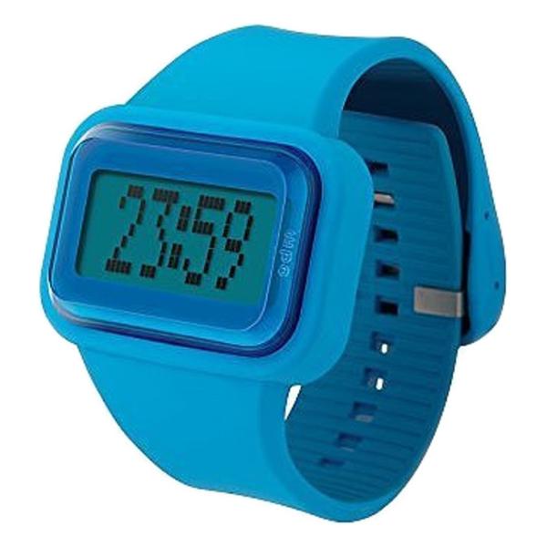 Reloj digital silicona unisex - azul