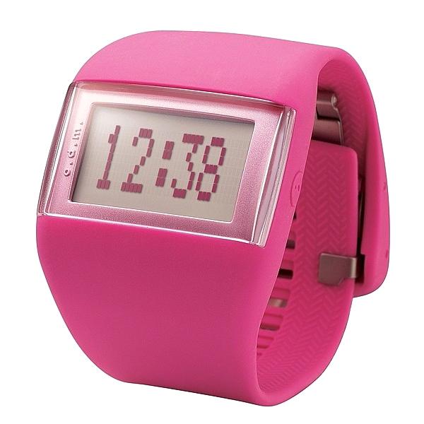 Reloj digital silicona unisex - rosa