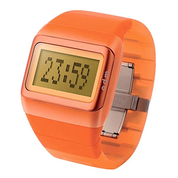 Reloj digital silicona unisex - naranja