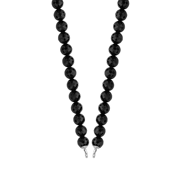 Collar onix mujer - negro