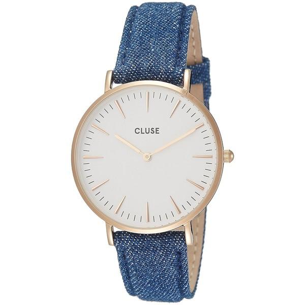 Reloj mujer analógico - azul/blanco