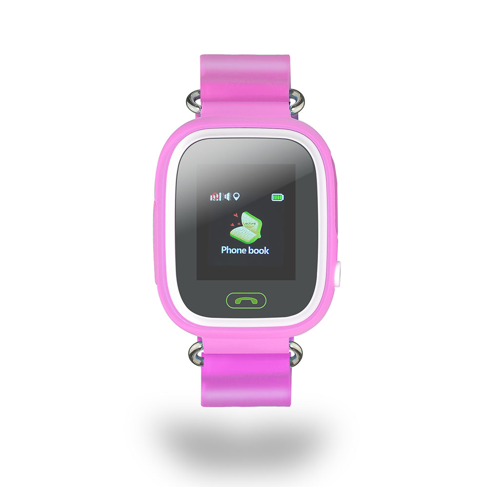Smartwatch niños c/localizador - rosa