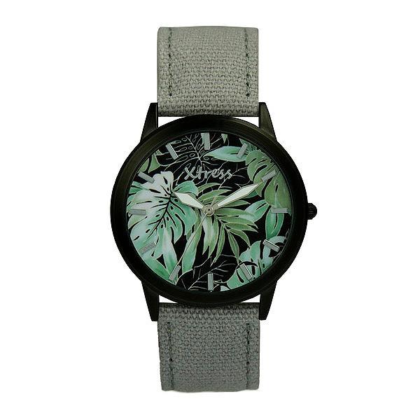 Reloj analógico unisex - gris