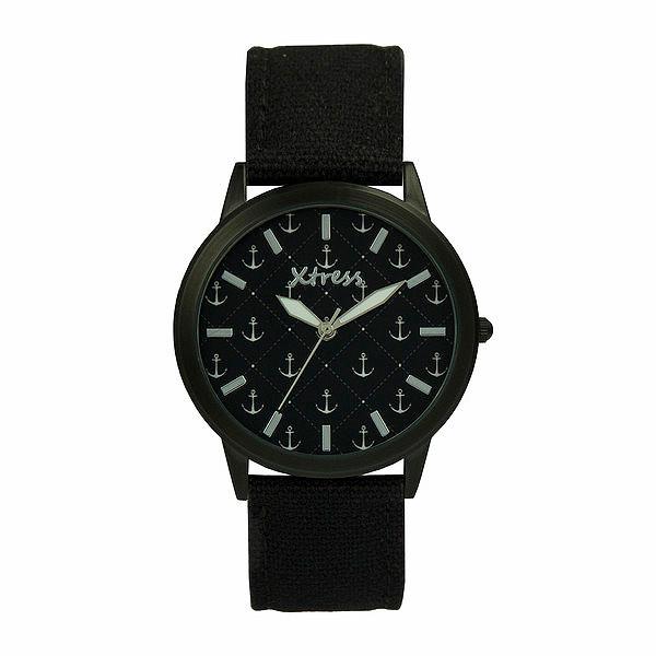 Reloj analógico unisex  - negro