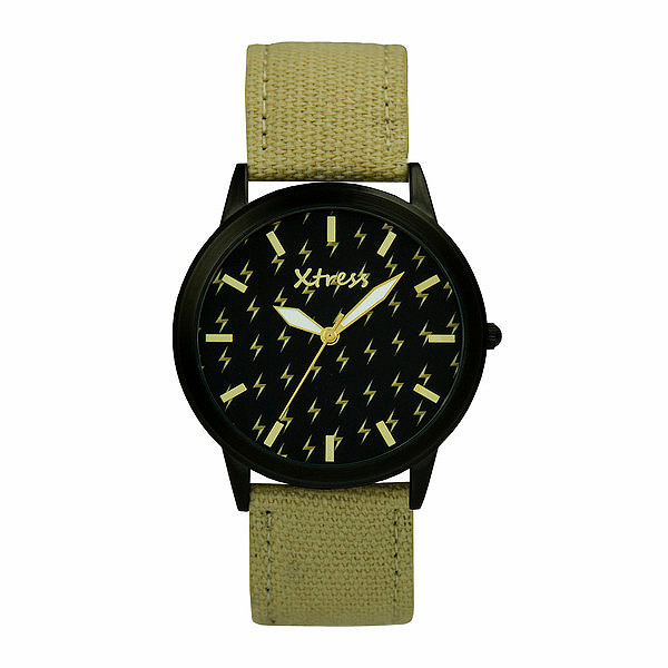 Reloj analógico unisex  - beige