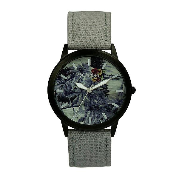 Reloj analógico unisex  - gris/negro