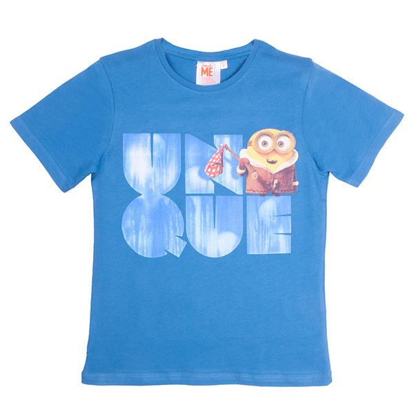 Camiseta Minions infantil - azul