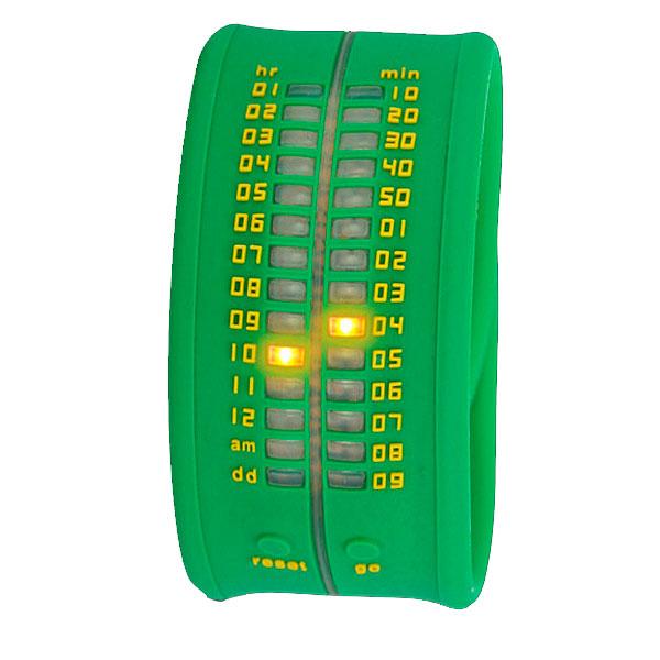 Reloj digital silicona unisex - verde