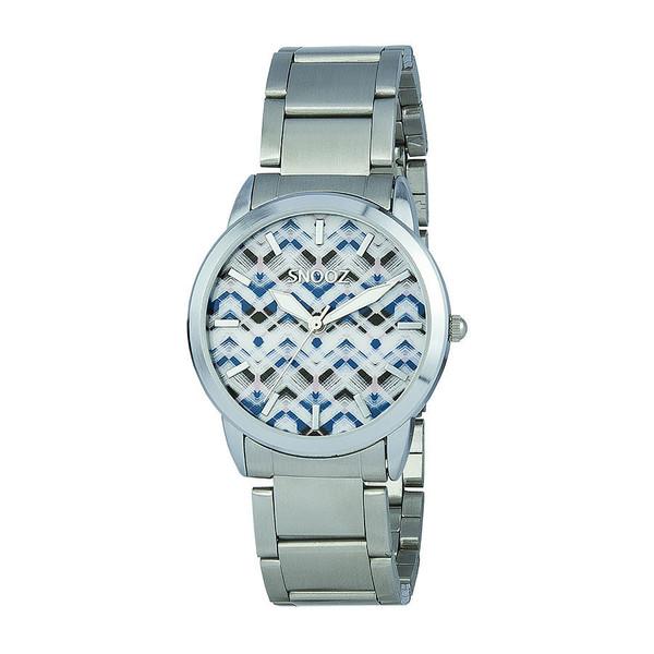 Reloj analógico mujer acero - plata