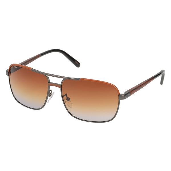 Gafas de sol metal mujer - marrón/gris
