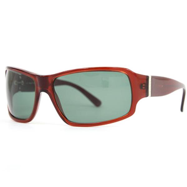 Gafas de sol hombre acetato - rojo