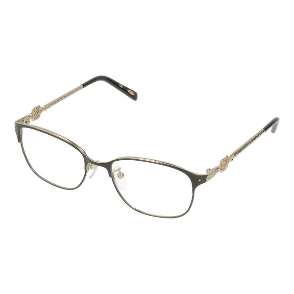 Gafas de vista metal mujer - dorado