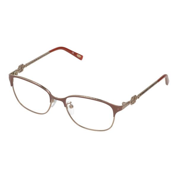 Gafas de vista metal mujer - camel