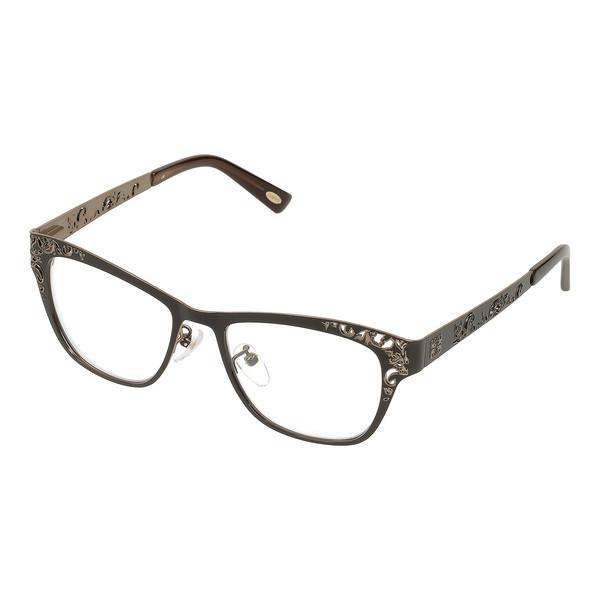 Gafas de vista metal mujer - bronce