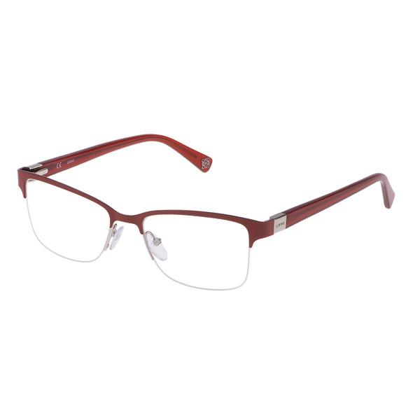 Gafas de vista metal unisex - granate