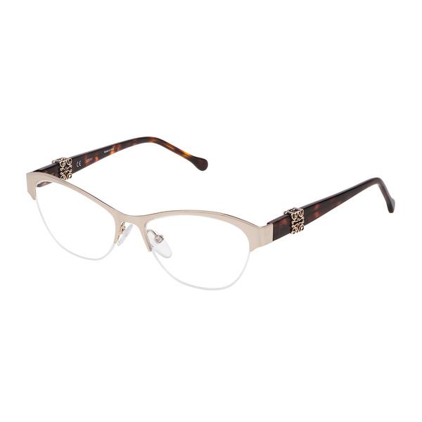 Gafas de vista mujer metal - marrón