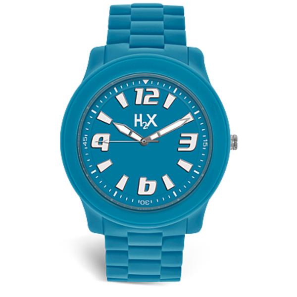 764714cbbab6 Reloj unisex analógico acero caucho - azul HAUREX SA381XA1