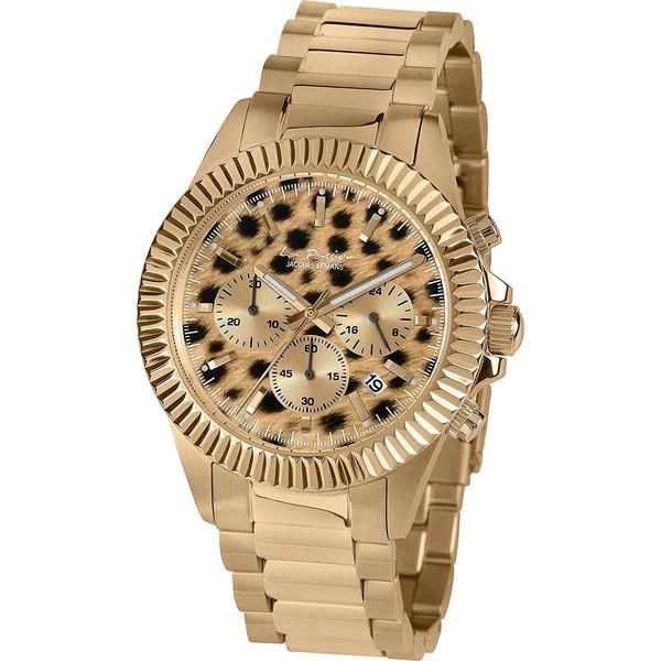 Reloj unisex analógico acero - dorado
