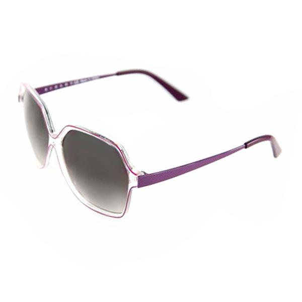 Gafas de sol mujer calibre 60 acetato/metal - marrón