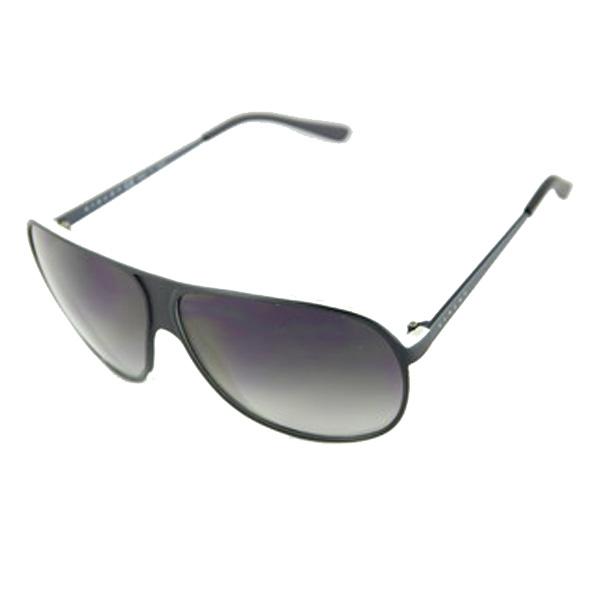 Gafas de sol acetato/metal hombre - negro