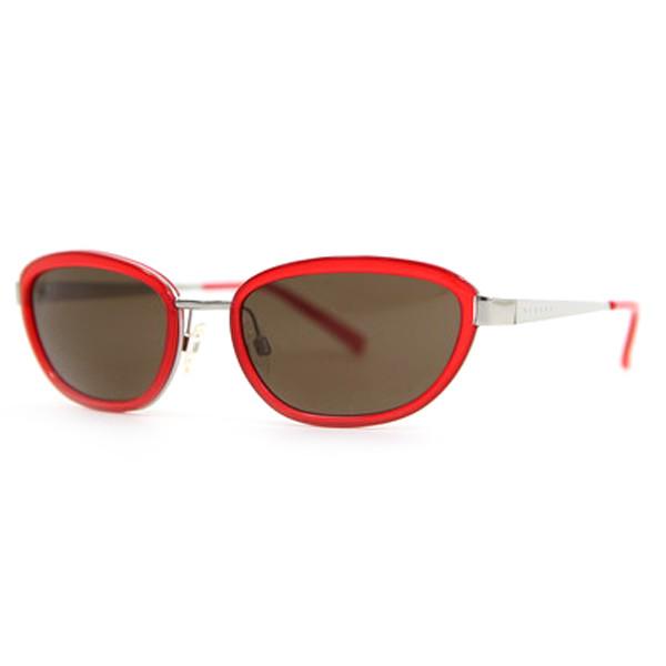 Gafas de sol acetato mujer - rojo