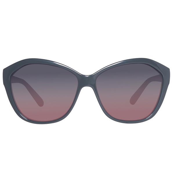 Gafas de sol inyectado mujer - gris