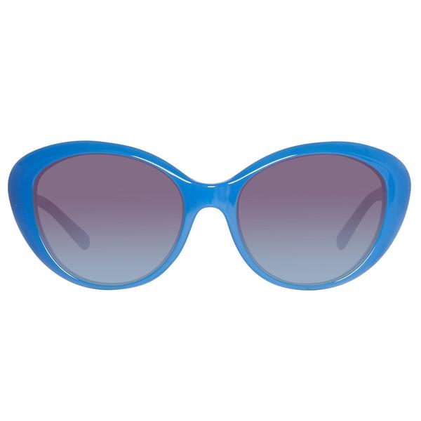 Gafas de sol inyectado mujer - azul