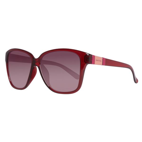 Gafas de sol inyectado mujer - rojo
