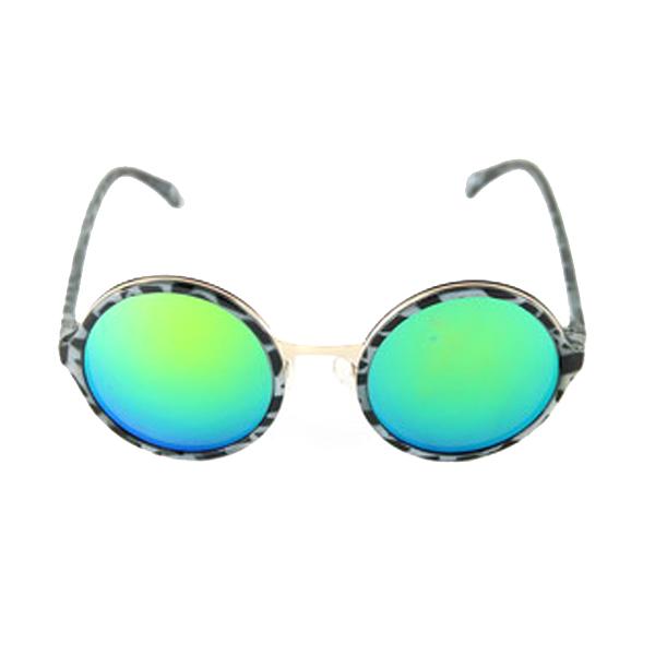 Gafas de sol de mujer calibre 49 acetato/metal - gris