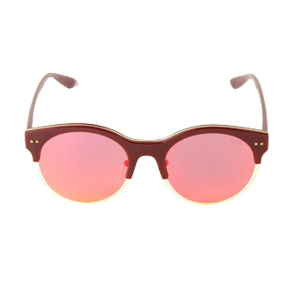 Gafas de sol mujer cal.57 acetato-metal - rojo