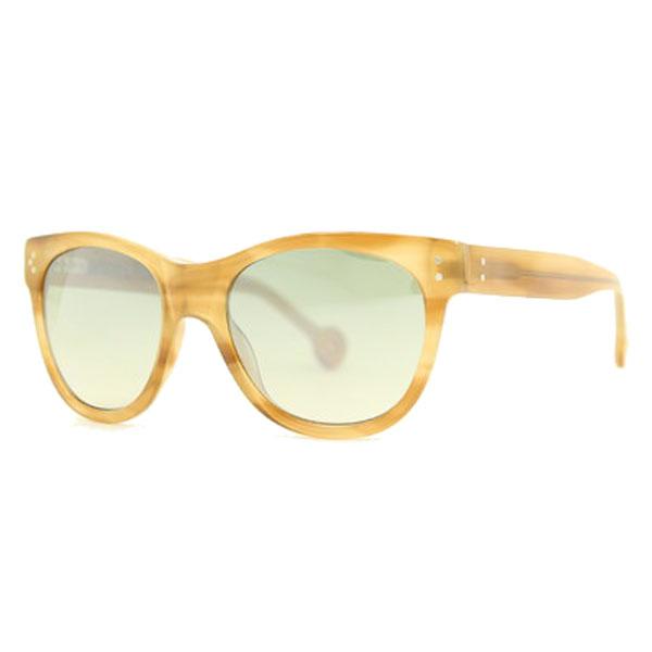 Gafas de sol de unisex calibre 53 acetato - amarillo/marron