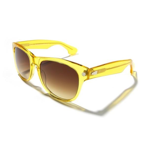 Gafas de sol unisex cal.54 acetato - marrón claro