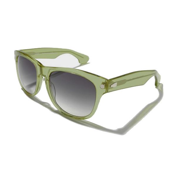 Gafas de sol unisex cal.54 acetato - amarillo claro