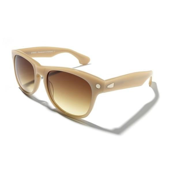 Gafas de sol de unisex calibre 54 acetato - marrón