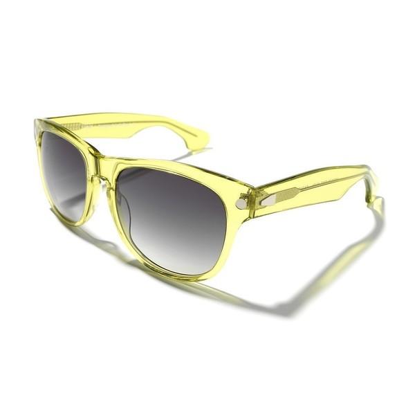 Gafas de sol unisex 54 acetato - amarillo