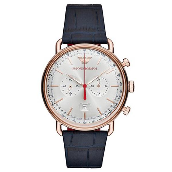 17fe401fd6d5 Reloj hombre cronógrafo acero - rosa dorado ARMANI AR11123