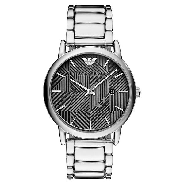 Reloj hombre analógico acero - gris