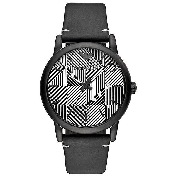 Reloj hombre analógico acero - blanco/negro