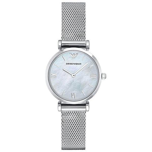 Reloj análogico mujer acero - plateado
