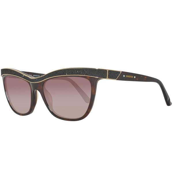 Gafas de sol mujer cal.55 acetato - havana/marrón